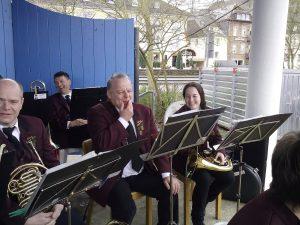 2016 - Ostersonntag am Musikpavillon am Trarbacher Moselufer