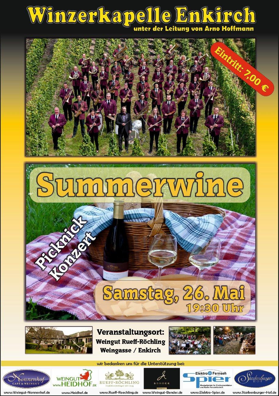 Konzert 2018 - Summerwine