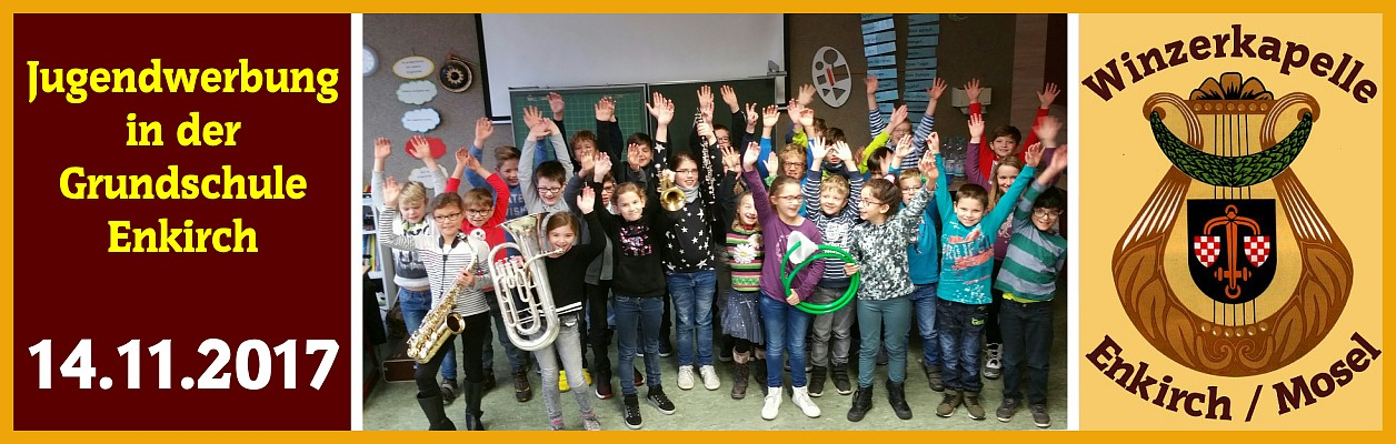 2017 – Jugendwerbung in der Grundschule Enkirch