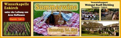 "2018 - Picknick-Konzert ""Summerwine"""