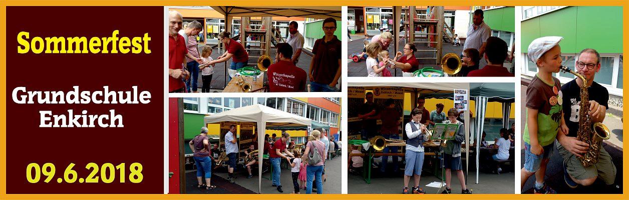 2018 - Sommerfest in der Grundschule Enkirch