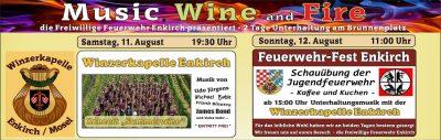 """2018 - Feuerwehrfest mit Konzert """"Summerwine"""""""