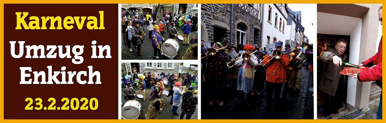 2020 – Karnevalsumzug in Enkirch