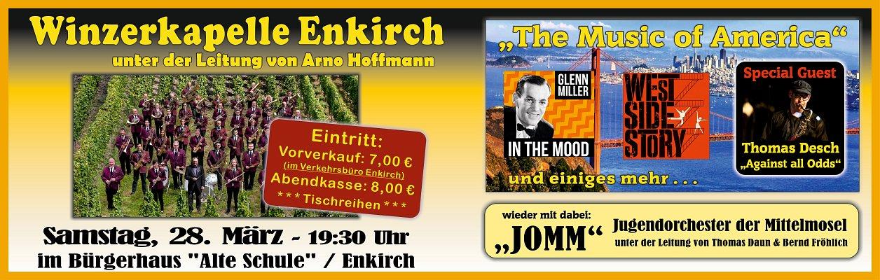 "2020 – Konzert ""The Music of America"""