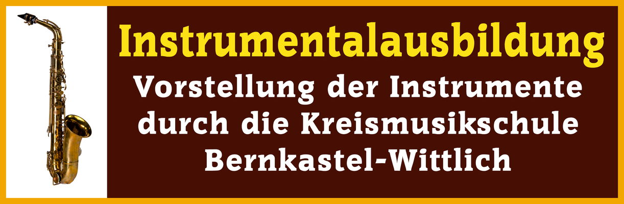 Instrumentenvorstellung durch die Kreismusikschule Bernkastel-Wittlich