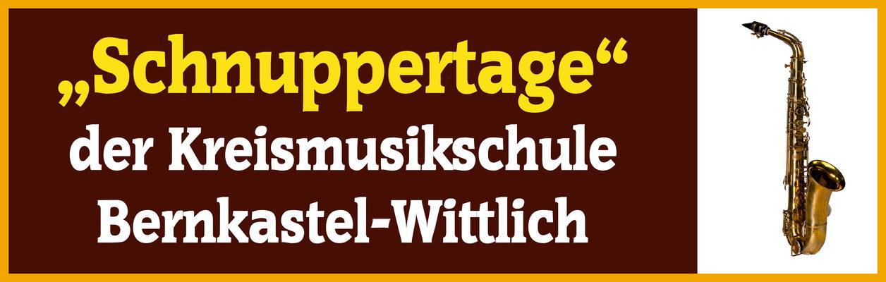 Schnuppertage der Musikschule des Landkreises Bernkastel-Wittlich